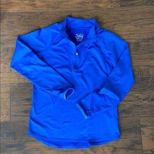 Justice Brand girls quarter zip pullover